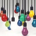 Free Creative Idea And Leadership Concept Light Bulb Royalty Free Stock Image - 30560166