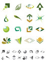 Free Abstract Icons - Pack 2 Royalty Free Stock Photography - 30560247