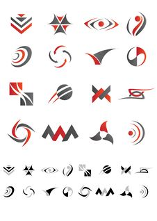 Free Abstract Icons - Pack 3 Stock Photos - 30560253