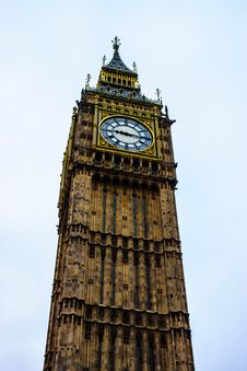 Free The Elizabeth Tower  &x28;Big Ben&x29; Royalty Free Stock Image - 30562526