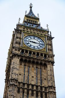 Free The Elizabeth Tower  &x28;Big Ben&x29; Royalty Free Stock Photo - 30562645