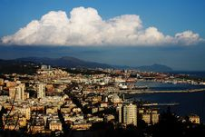 Free Panorama Of Genoa Royalty Free Stock Photo - 30564255