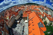 Free Praha - Panoramic View Royalty Free Stock Photo - 30564765