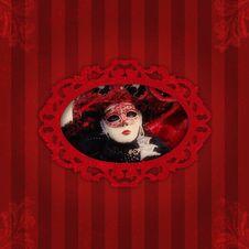 Free Venetian Carnival Background Stock Image - 30565571