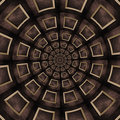 Free Vintage Wood Frame Kaleidoscope Royalty Free Stock Photos - 30572328