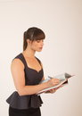 Free Young Attractive Female Office Worker Royalty Free Stock Images - 30572699