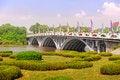 Free The Multiple Span Bridge Stock Image - 30576001