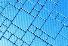 Free Steel Blue Cube Mesh Metal Plate Background Stock Images - 30570974