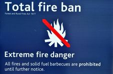 Free Total Fire Ban Royalty Free Stock Photos - 30571098
