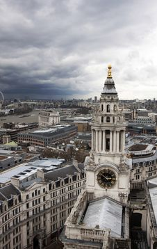 Free London Panorama Royalty Free Stock Images - 30572459
