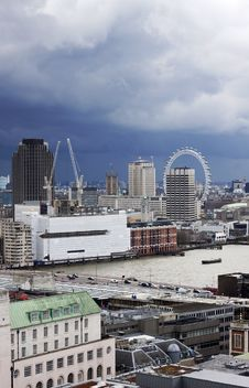 Free London Panorama Royalty Free Stock Images - 30572499