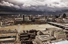 Free London Panorama Royalty Free Stock Photography - 30572557
