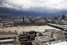 Free London Panorama Royalty Free Stock Photos - 30572558
