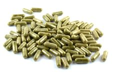 Free Vegetable Capsules In Isolate Royalty Free Stock Photography - 30574197