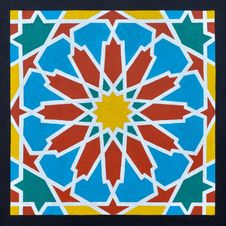 Free Islamic Pattern In A Frame Stock Photography - 30575682