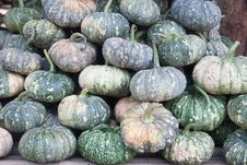 Free Green Pumpkin Fruits For Sale Royalty Free Stock Image - 30578716