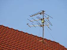 Free Antenna On Roof Stock Photo - 30579910