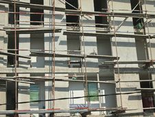 Free Metal Scaffolding Stock Photography - 30580352