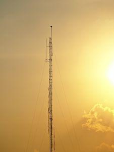 Free Antenna In Orange Stock Photos - 30580793