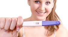 Pregnancy Test Royalty Free Stock Images