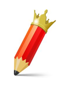 Free Pencil King Royalty Free Stock Photo - 30583405
