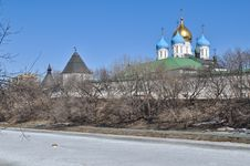 Free Novospassky Monastery In Moscow. Stock Photo - 30584110