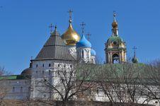 Free Novospassky Monastery In Moscow. Stock Photos - 30584203