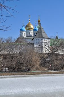 Free Novospassky Monastery In Moscow. Stock Photography - 30584232