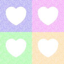 Free White Hearts Stock Image - 30591071
