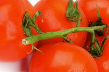 Free Tomatoes With Stems Stock Images - 30591324