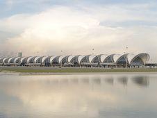 Free Suwannabhumi Airport, Bangkok Thailand Royalty Free Stock Image - 30591566