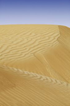 Free Beautiful Sand Dune Scenery In United Arab Emirates Stock Photo - 30591910