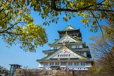 Free Osaka Castle Royalty Free Stock Photos - 30591978