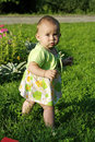 Free Child On A Grass Stock Photography - 3063762