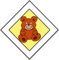 Free Teddies Have The Right Of Way Royalty Free Stock Photos - 3063948