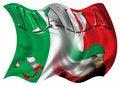 Free Italy Flag / Map & Eagle Stock Photo - 3069790