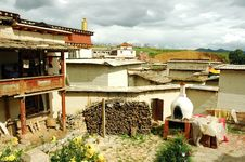 Free Tibetan House Stock Image - 3062621