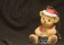 Free Christmas Bear Royalty Free Stock Photos - 3062678
