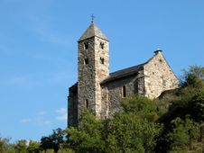 Church In The Alps Royalty Free Stock Photo