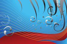 Free Aquamarine Waves Lining Royalty Free Stock Images - 3063379