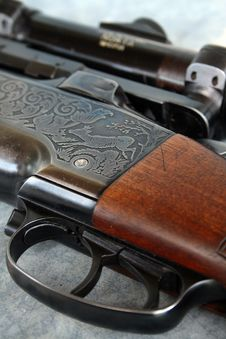 Free Gun Royalty Free Stock Image - 3065366
