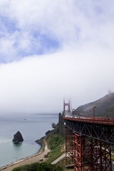 Free Golden Gate Bridge And Fog Stock Photo - 3066130