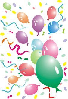 Free Air-balloons Royalty Free Stock Photo - 3066135