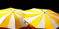 Pair Of Parasols Stock Photo
