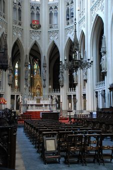 Cathdral Saint Jan Den Bosch Royalty Free Stock Photography