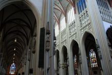 Cathdral Saint Jan Den Bosch Royalty Free Stock Images