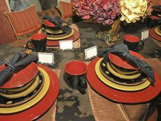 Free Luxury 3 - Dining 3 Royalty Free Stock Image - 3066426