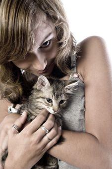 Free My Kitten Royalty Free Stock Image - 3066556