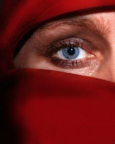 Free Red Veil Royalty Free Stock Image - 3066916
