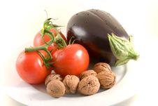 Free Eggplant-isolated On Royalty Free Stock Photos - 3066968